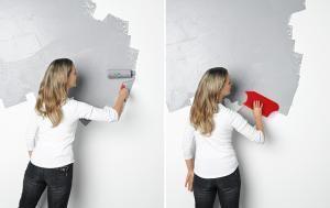 Wandgestaltung In Betonoptik Wandgestaltung Betonoptik Betonoptik Und Schoner Wohnen Farbe