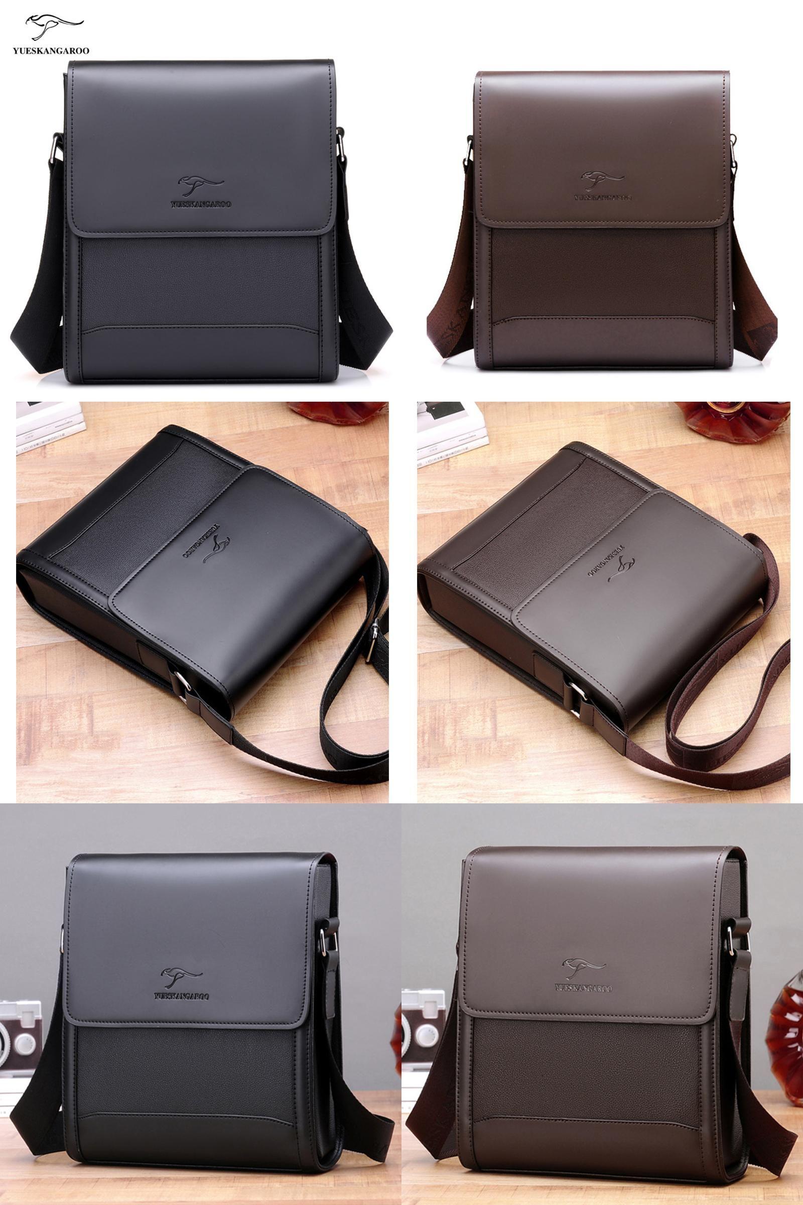 fc5c270512f9 [Visit to Buy] YUES KANGAROO Men Bags Hot Male Small Messenger Bag Man  Fashion Leather Crossbody Shoulder Bag Men's Travel New Bag #Advertisement