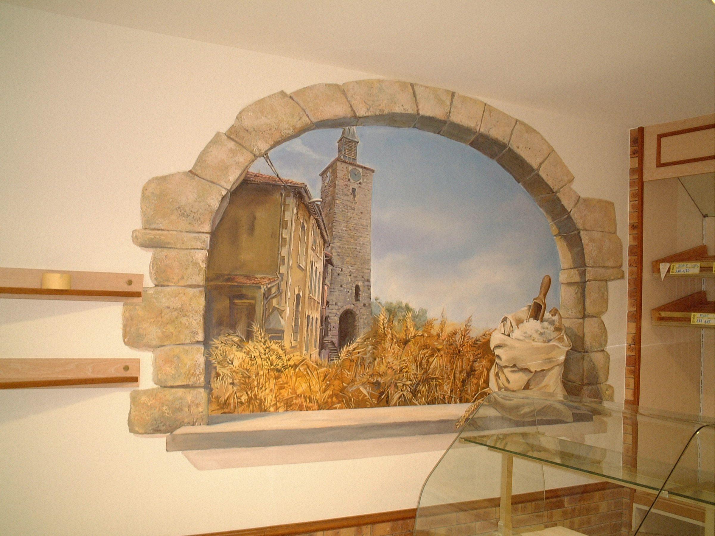 trompe l\'oeil mural interieur - Google Search | Murals | Pinterest ...