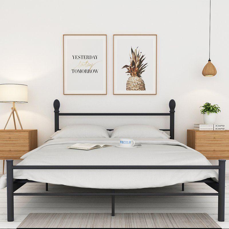 Mireia Platform Bed Dormitorios Decoracion De Habitaciones
