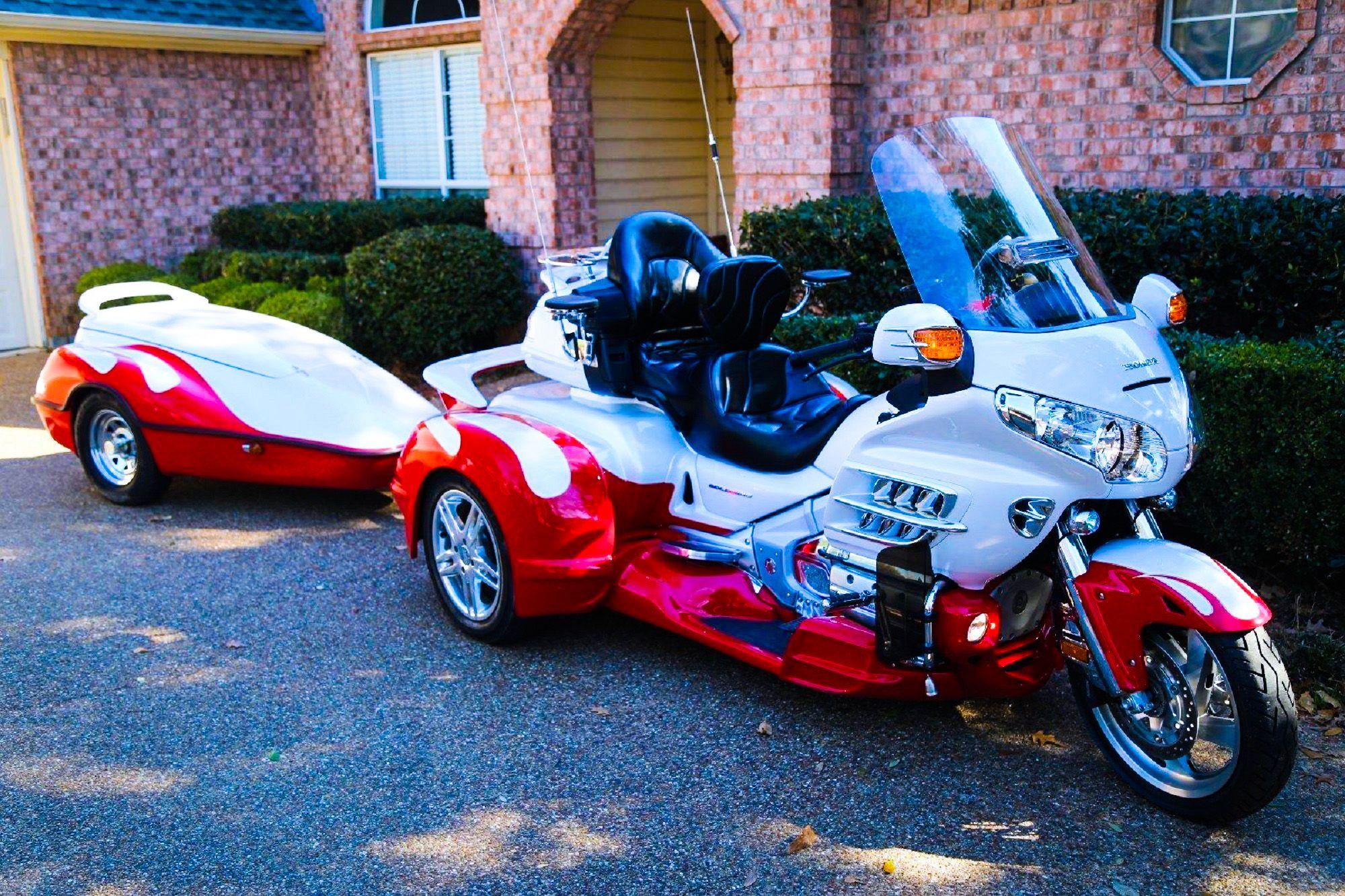 Pin by Ken Williams on Trikes | Goldwing trike, Motorcycle, Bike
