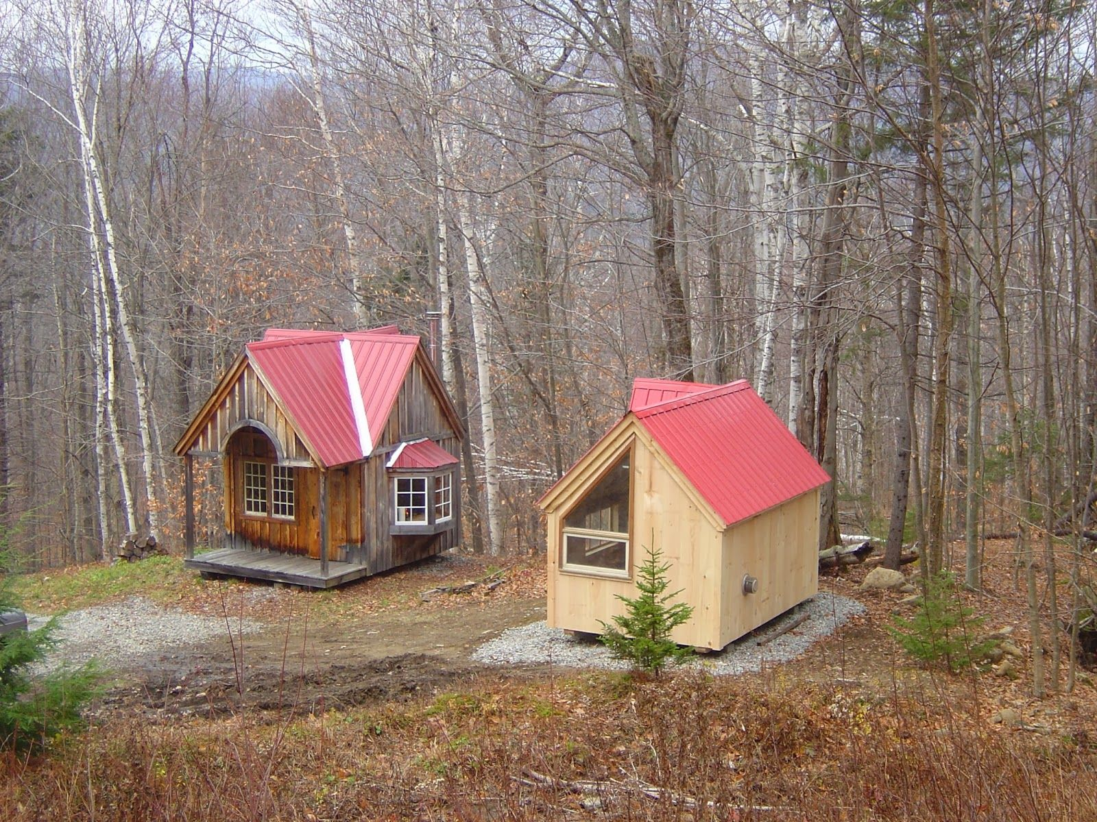 Tiny House N Shed Compound In New England Three Micro