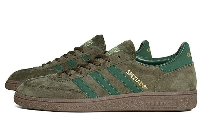 adidas Spezial - Oak / Dark Green