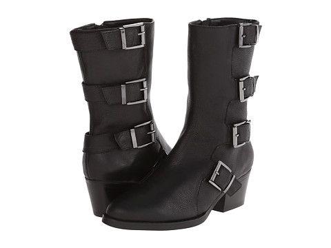 Womens Boots Vaneli Rhun T.Moro Laredo Calf/Ant Bronze Buckle