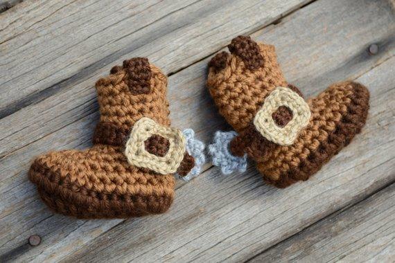 Crochet Cowboy Boots 575f40d7bcd