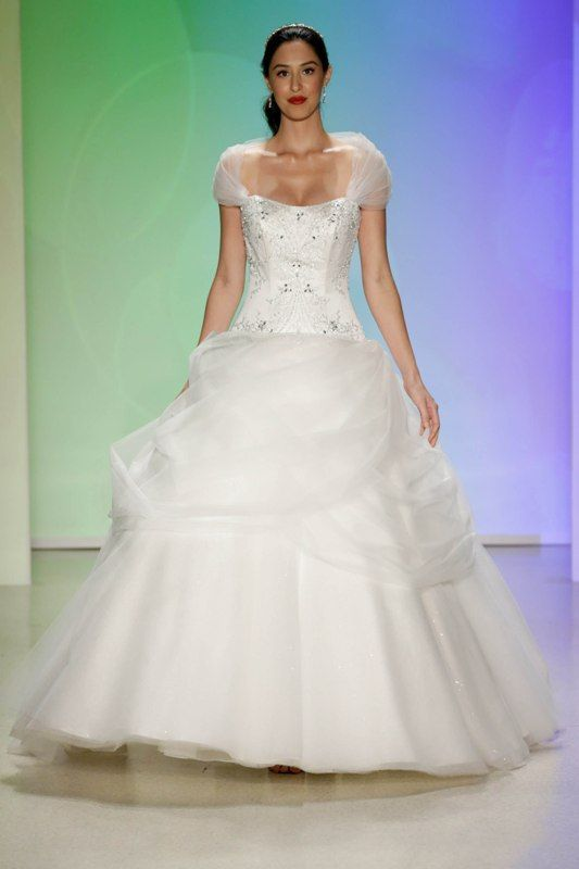 Your First Look at the 2017 Disney Wedding Gowns from Alfred Angelo ...