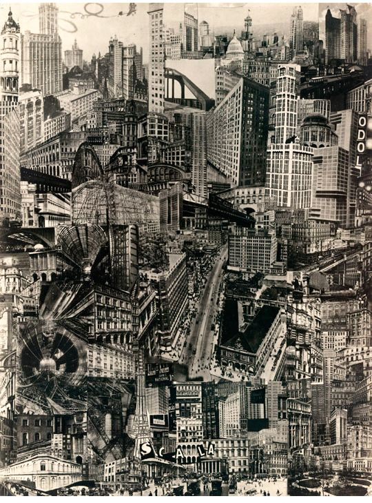 Cut N Paste From Architectural Assemblage To Collage City Metropolitan Musem Of Art