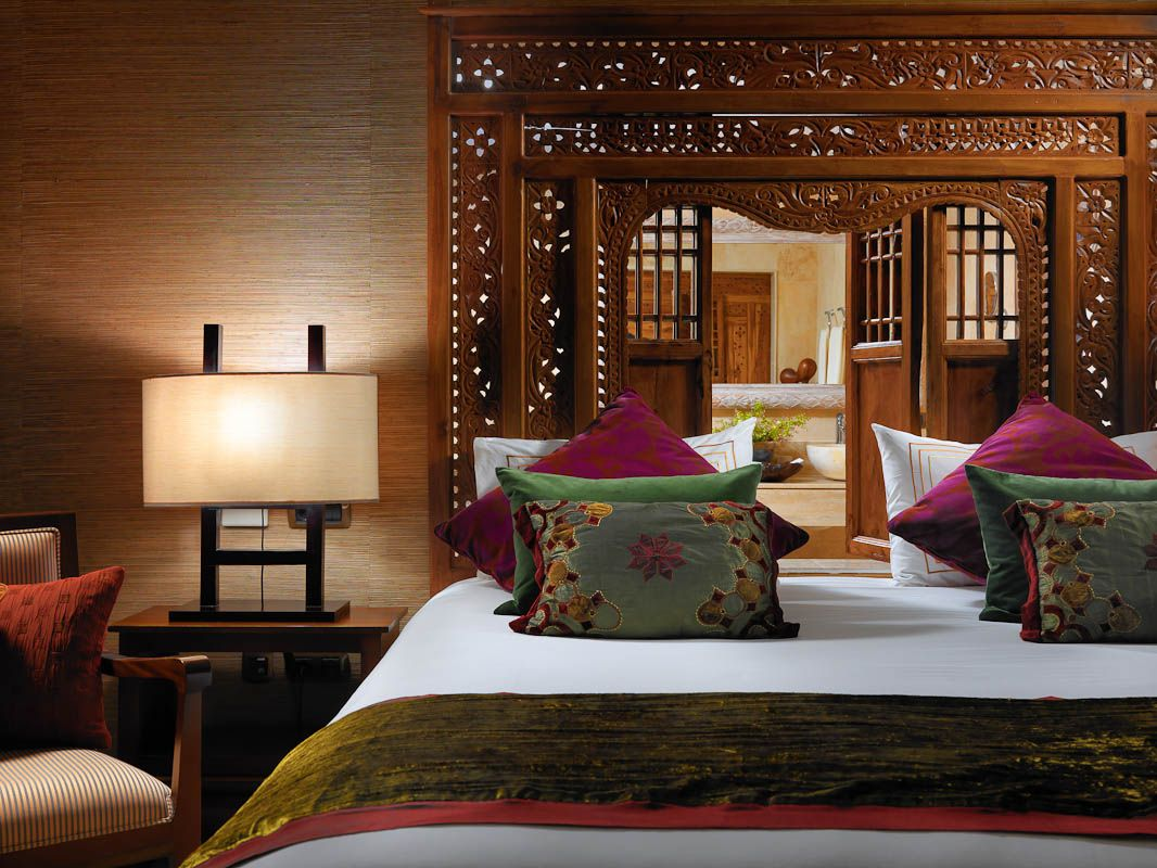 Love This Indonesian Carved Teak Bed Panel As Headboard.