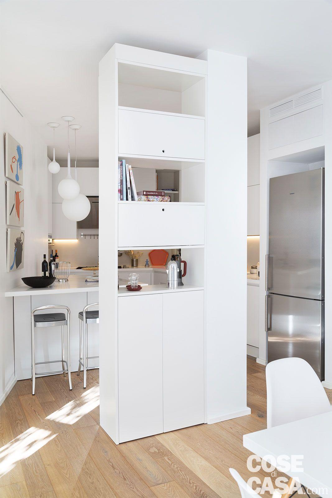Pur design dans un appartement en italie for Case moderne contemporanee