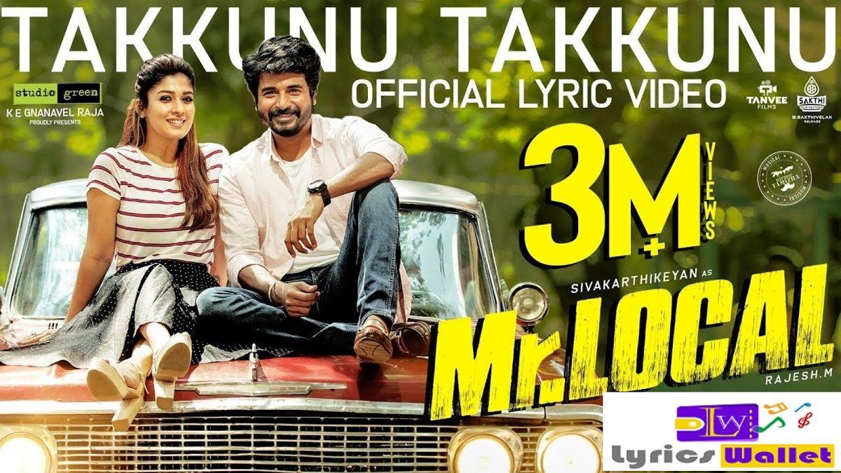 Takkunu Takkunu Song Songs Tamil Songs Lyrics Movie Songs