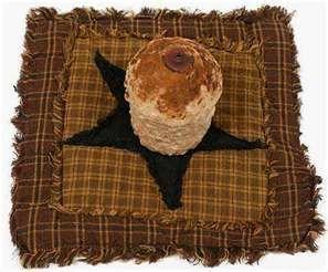 primitive candle mat images
