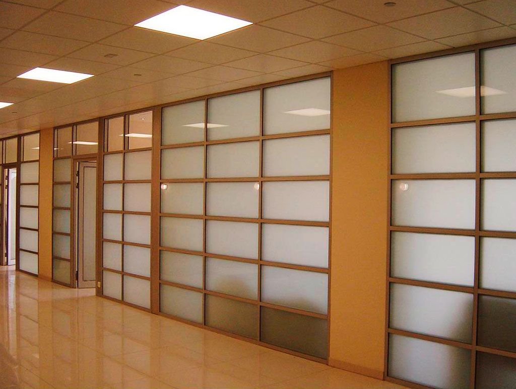 interior wall transom between rooms ALT110 office partition wall