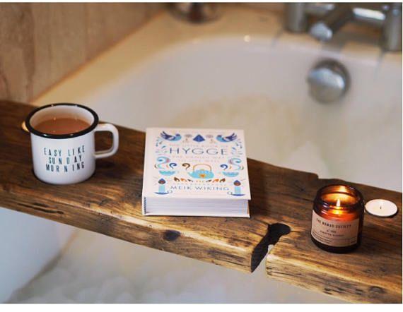 Bath Wine Holder - Bath Caddy - Bath Board - Book Holder - Bath Mug ...