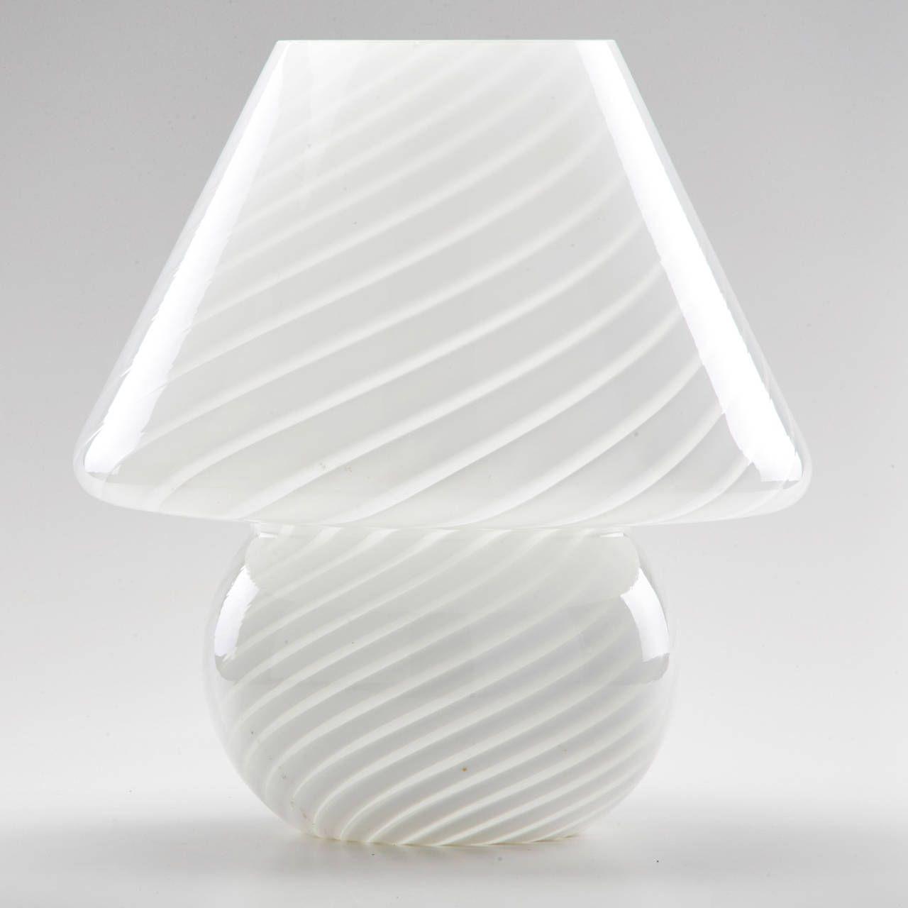Vetri murano table lamp mid century aloadofball Image collections