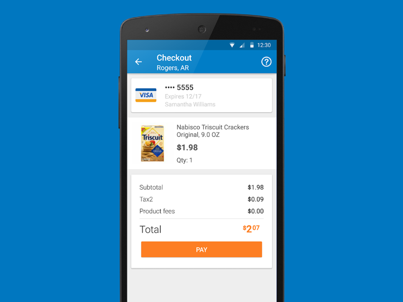 Walmart Scan & Go Android App Android apps, Walmart app