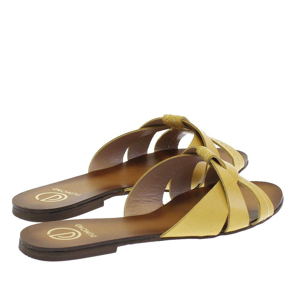 e19b72761 Sandália Néctar Amarelo 4552 Dumond para Moselle | Moselle sapatos finos  online! Moselle é feminina.
