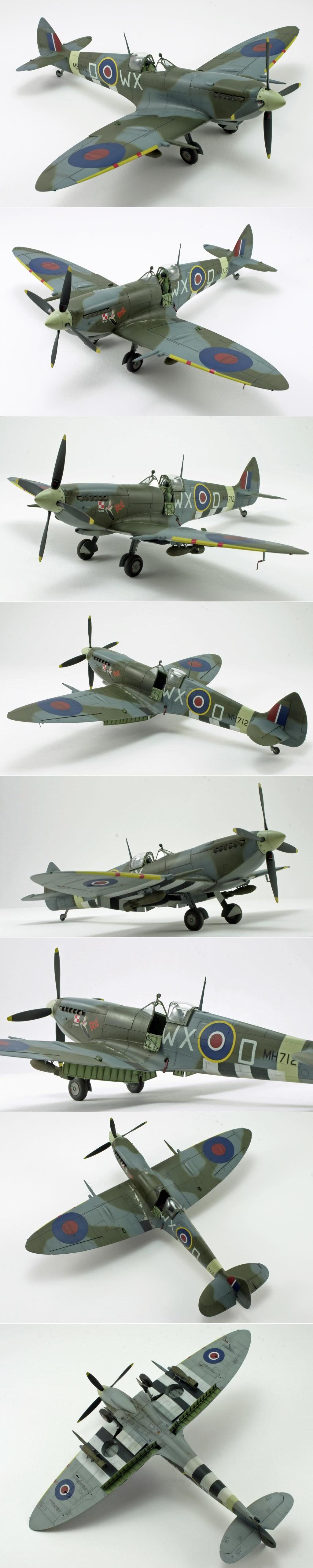 Eduard Spitfire Ix Http Www Network54 Com Forum 47751 Message 1389289445 Eduard Spitfire Ix Spitfire Model Model Airplanes Model Planes