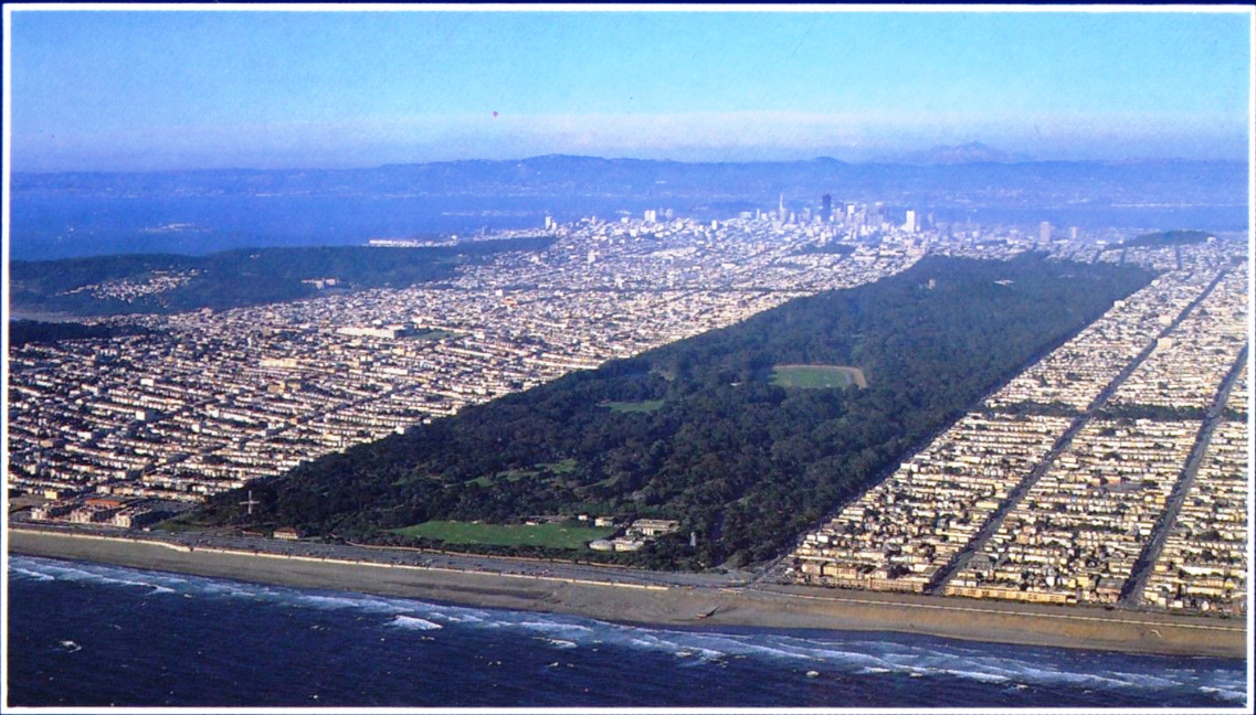 San Francisco Aerial View Of Golden Gate