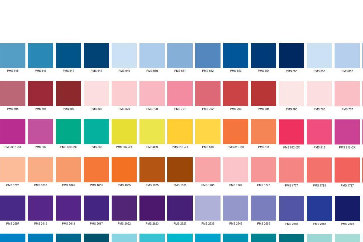 Pantone Color Chart Pdf Pantone Color Chart Pantone Pantone Color