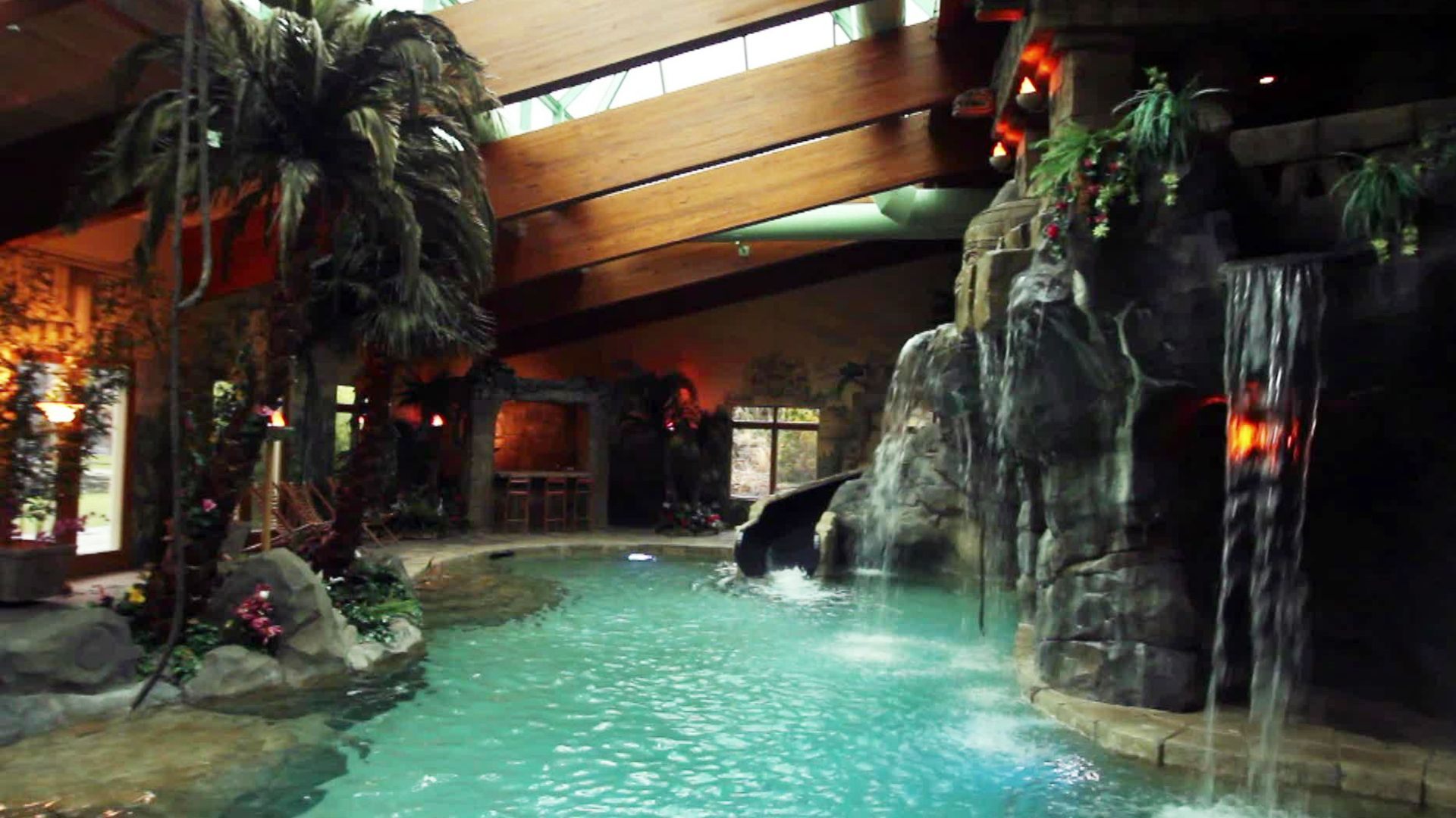 Amazing 2 Story Gym Kitchen Amp One Of A Kind Indoor Pool