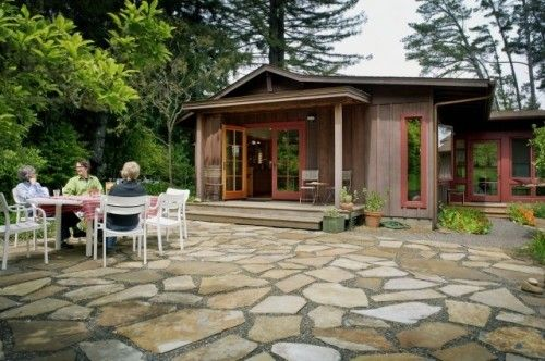 Stone Patio Expensive I M Sure But A Can Dream