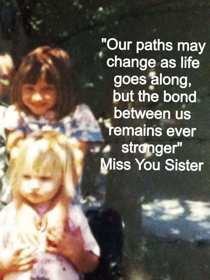 Missing My Sister Like Crazy!