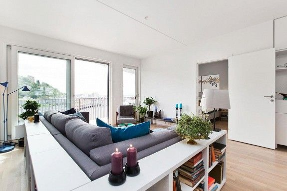 Sørenga: Stunning waterfront apartment with 2 sunny balconies