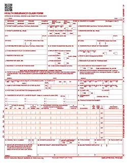 Standard Health Insurance Claim Form-HCFA-1500 - Is the government ...