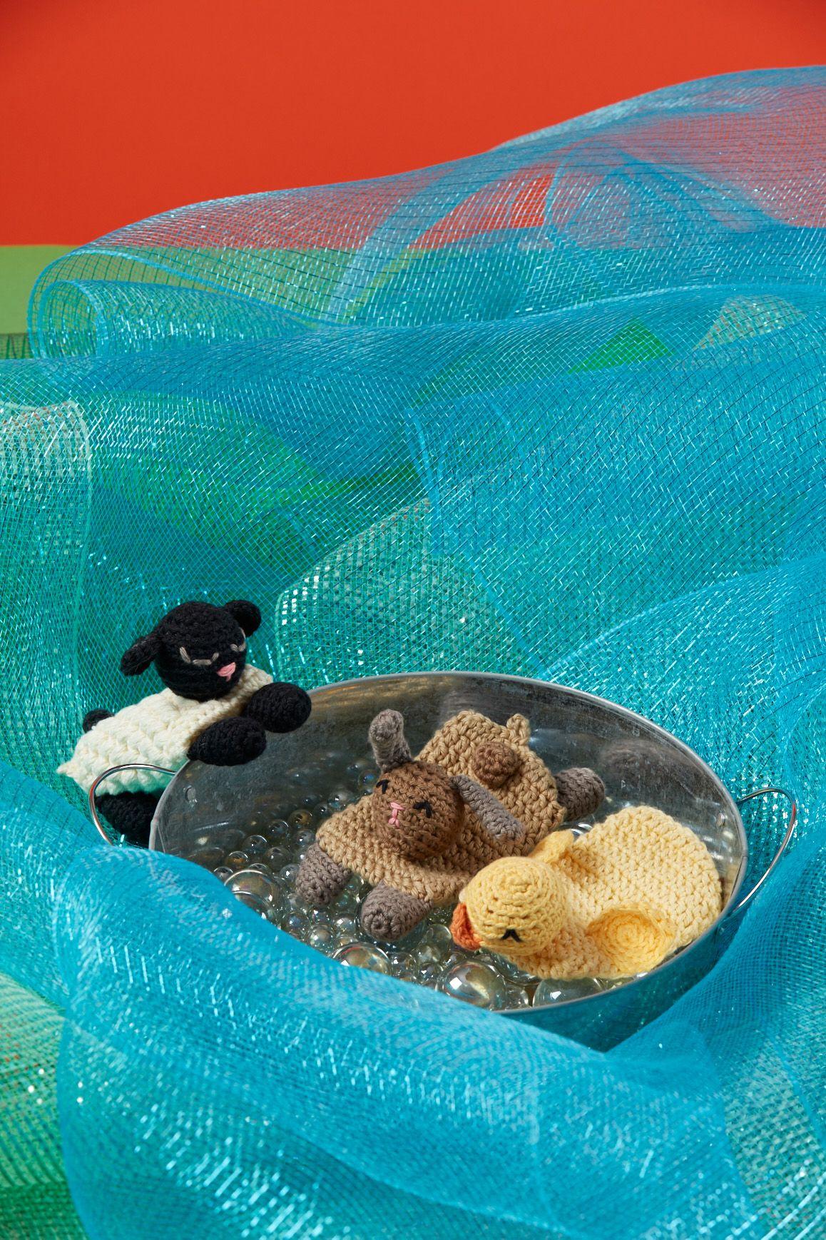 Sponge Buddies Bath Toys Knitted Toys Pinterest Crochet
