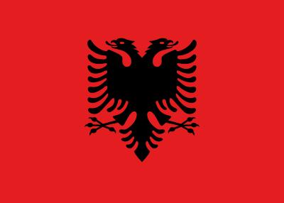 Bandera De Albania Escudo Nobiliario Banderas De Europa Y
