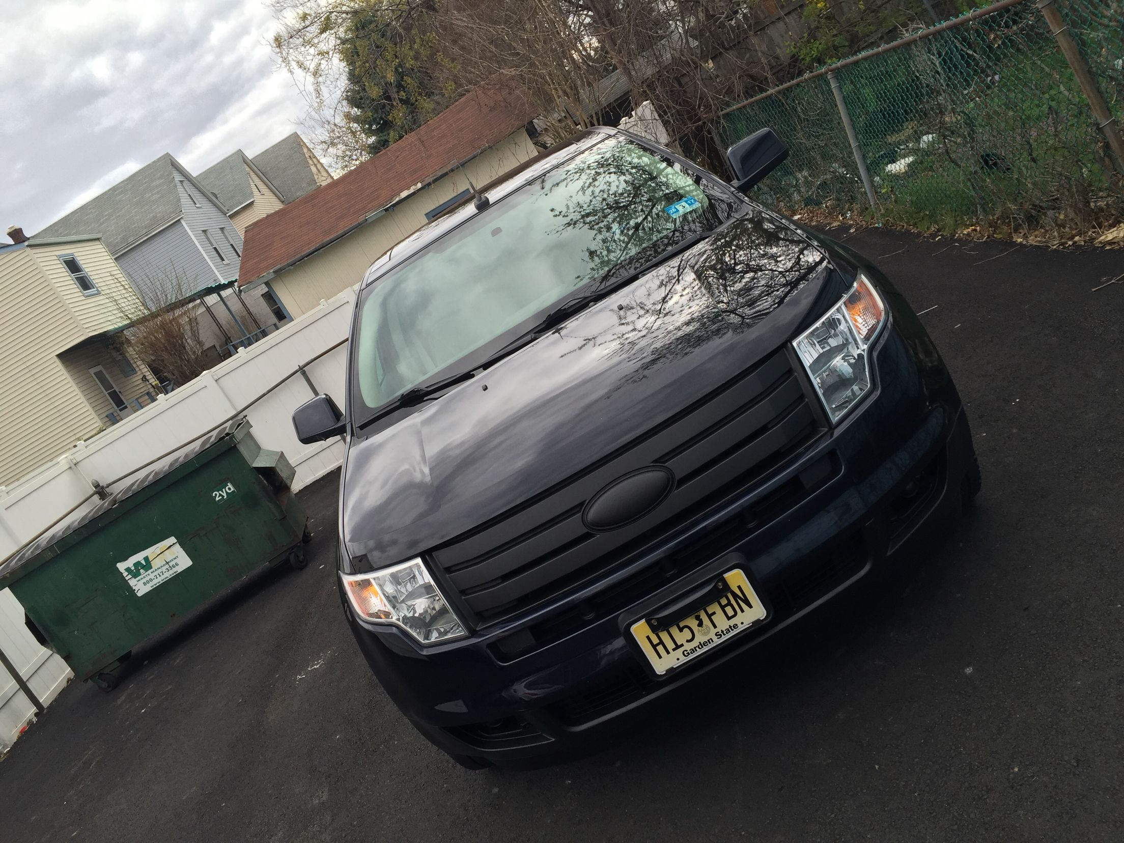 Ford Edge  Black Grill Plastidip
