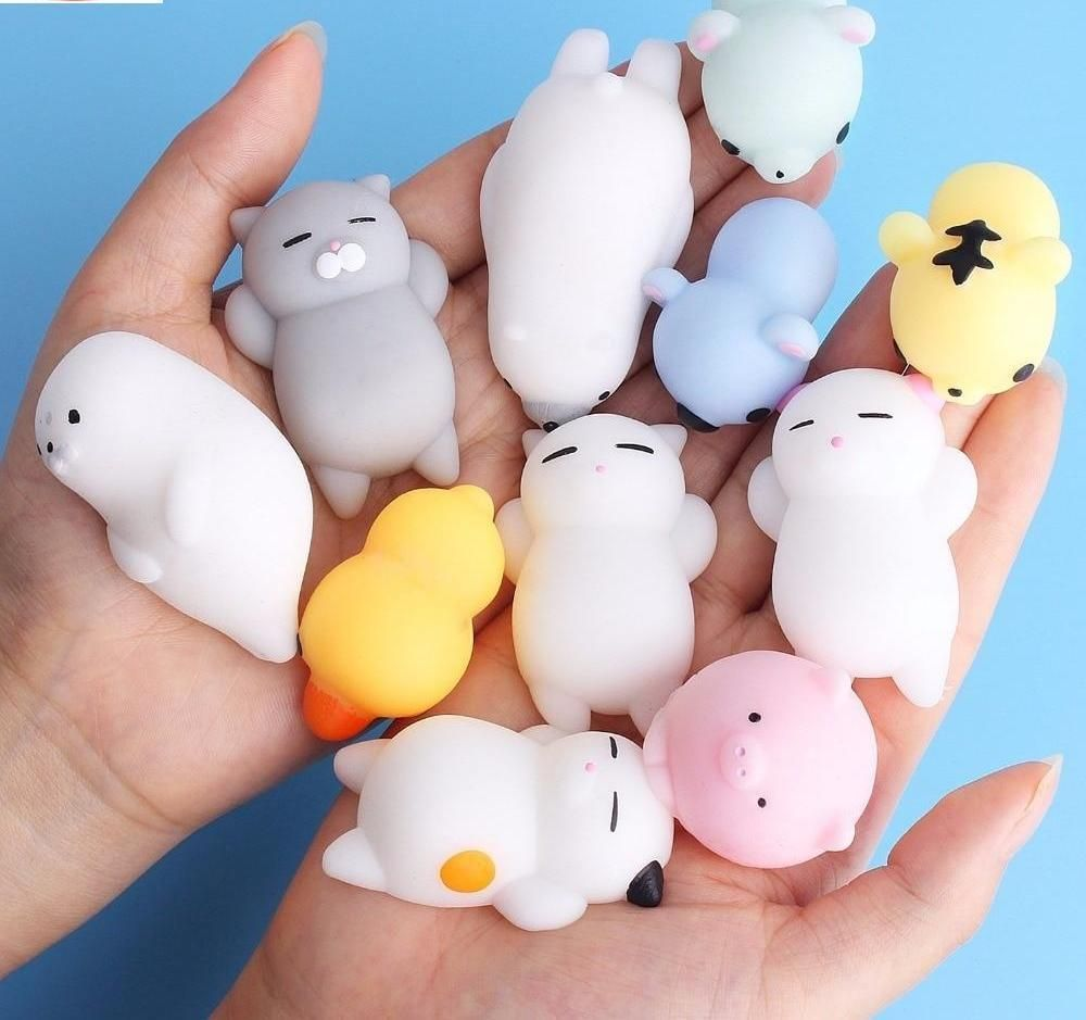 Squishy Cute Anti-stress toys | Stress toys, Stress relief ...