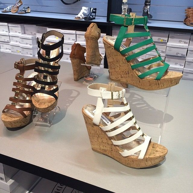Love these stylish wedges at Steve