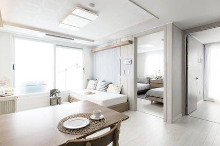 이렇게 멋진 에어비앤비 숙소를 확인해보세요: Romantic, 1min from Hongdae Metro - Mapo-gu의 아파트 대여 가능