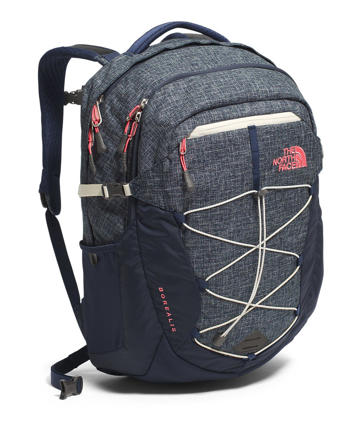 The North Face Womens Borealis Backpack Cosmic Blue Heather Calypso C Backpacks Bookbags