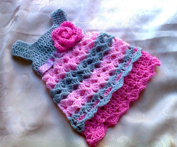 Pdf Häkelanleitung Baby Kleid Ebookin Englisch Von Diana Shop Auf