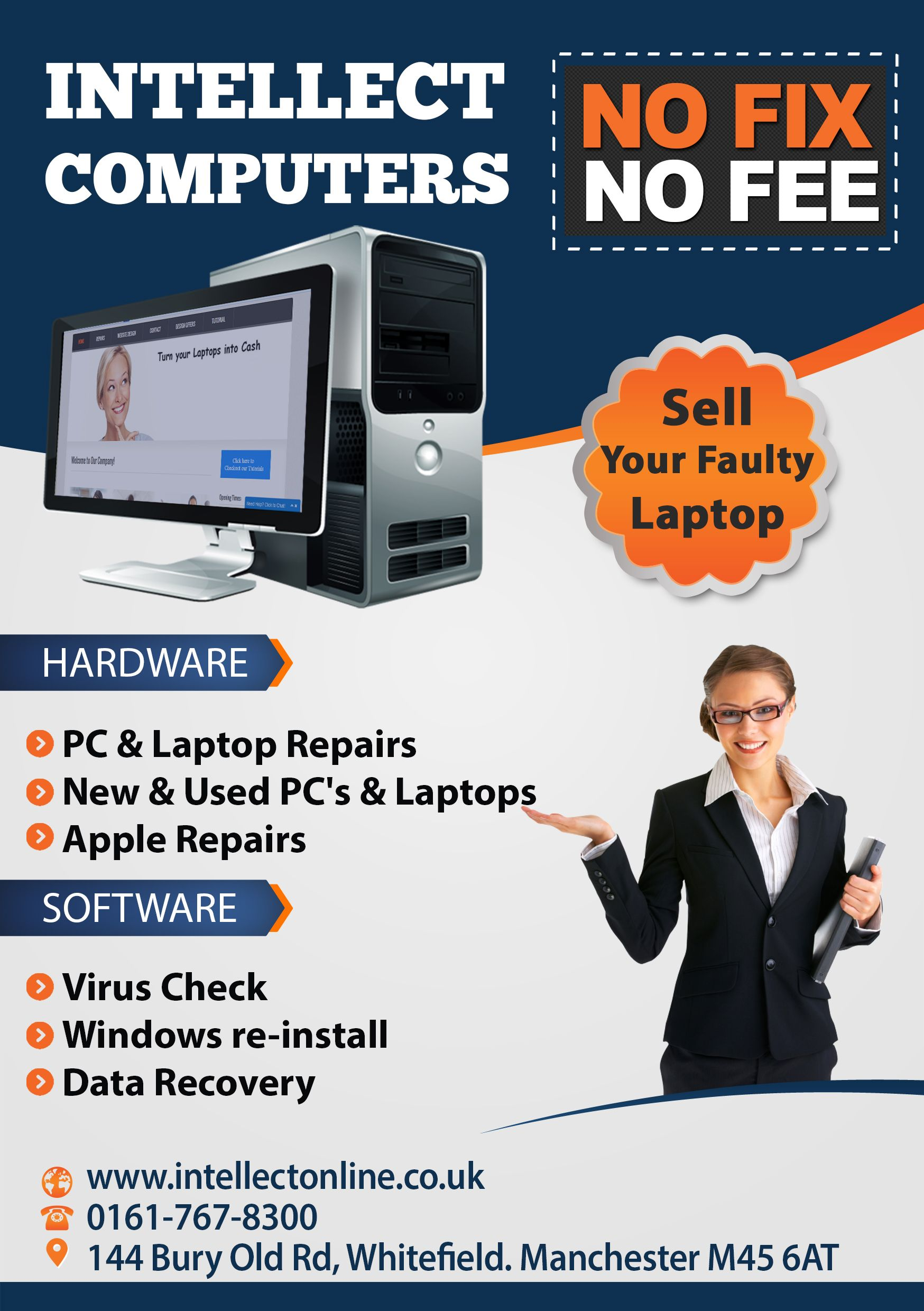 We Have A Computer And Laptop Repair Shop In Manchester And Also Provide Home Pc Repair Services In The Whitefield R Computer Repair Shop Pc Repair Ipad Repair