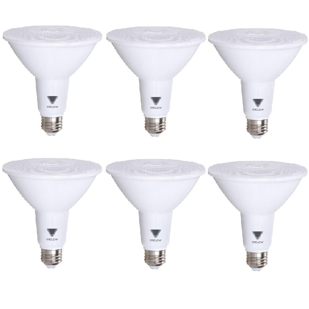 Triglow 100 Watt Equivalent Par38 Dimmable 1 050 Lumen Led Light Bulb Daylight Light Bulb Bulb Dimmable Led Lights
