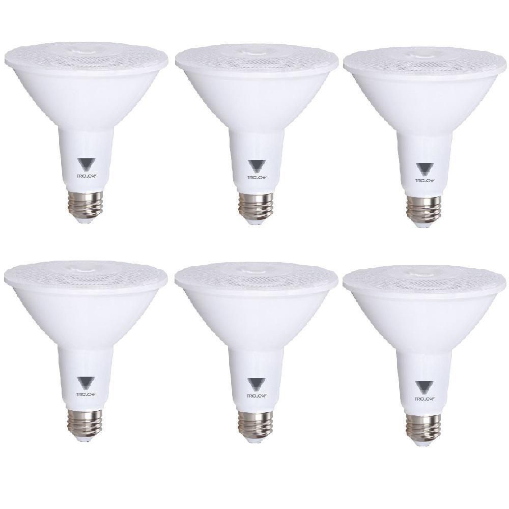 Triglow 100 Watt Equivalent Par38 Dimmable 1 050 Lumen Led Light Bulb Daylight Light Bulb Bulb Dimmable Led Lights