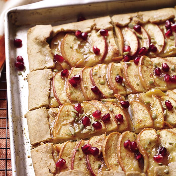 Apple Tart Pretty enough for the window of a fancy bake shop, easy enough to make at home.