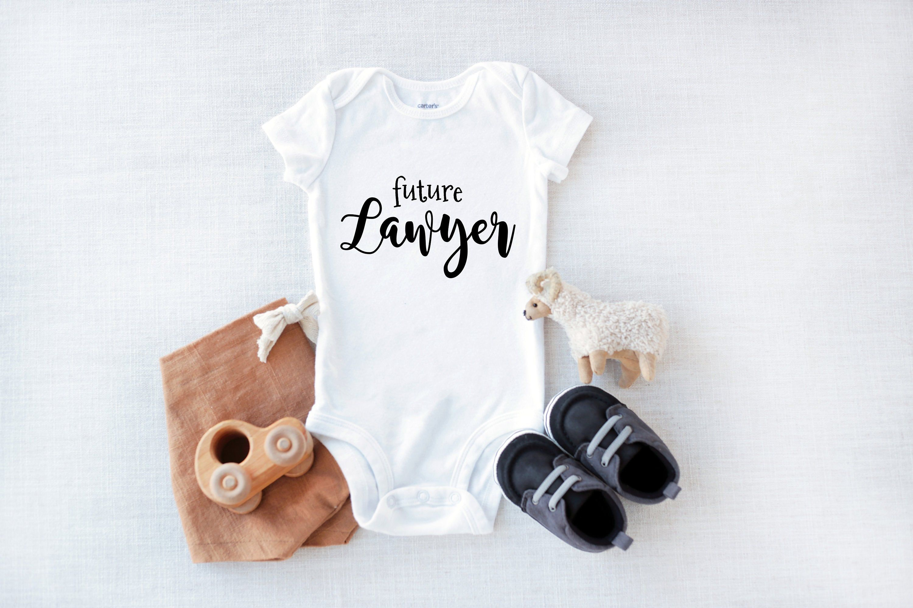 Future Lawyer Lawyer Baby Baby Onesie Lawyer Gift  Etsy