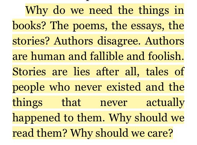 Why people like to read