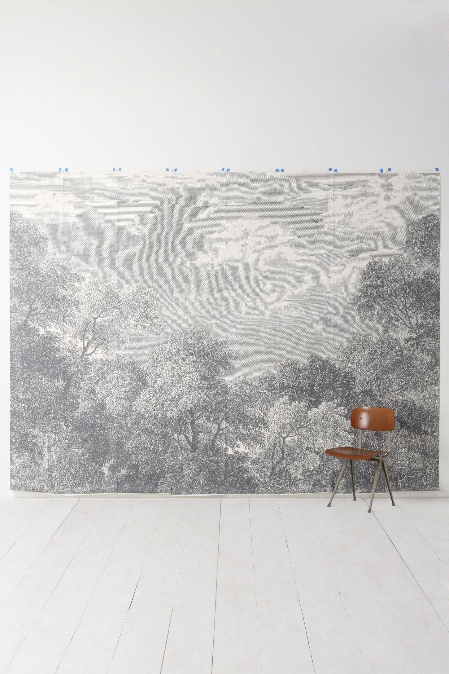 Beautiful Grey Waterproof Flooring Ideas For Living Room: 11 Beautiful Wall Murals That Will Make You Want To Break