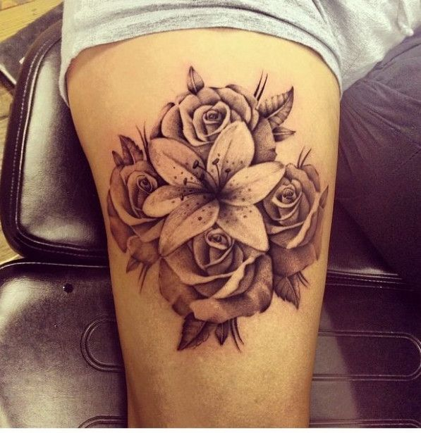 Cool !! Seven Important Life Lessons Lotus Flower And Rose Tattoo Taught Us | Lotus Flower And Rose Tattoo #tattooideas2020 #bodyart #bodyart2020 #bodyartideas #bodypainting