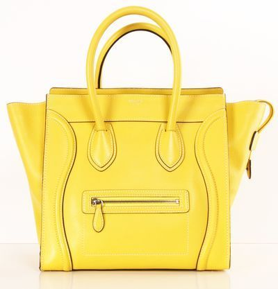 fe7c02e5d7a Shop Designer Clothing, Bags   Accessories Up to 90% Off. Celine BagLemon  YellowHand ...