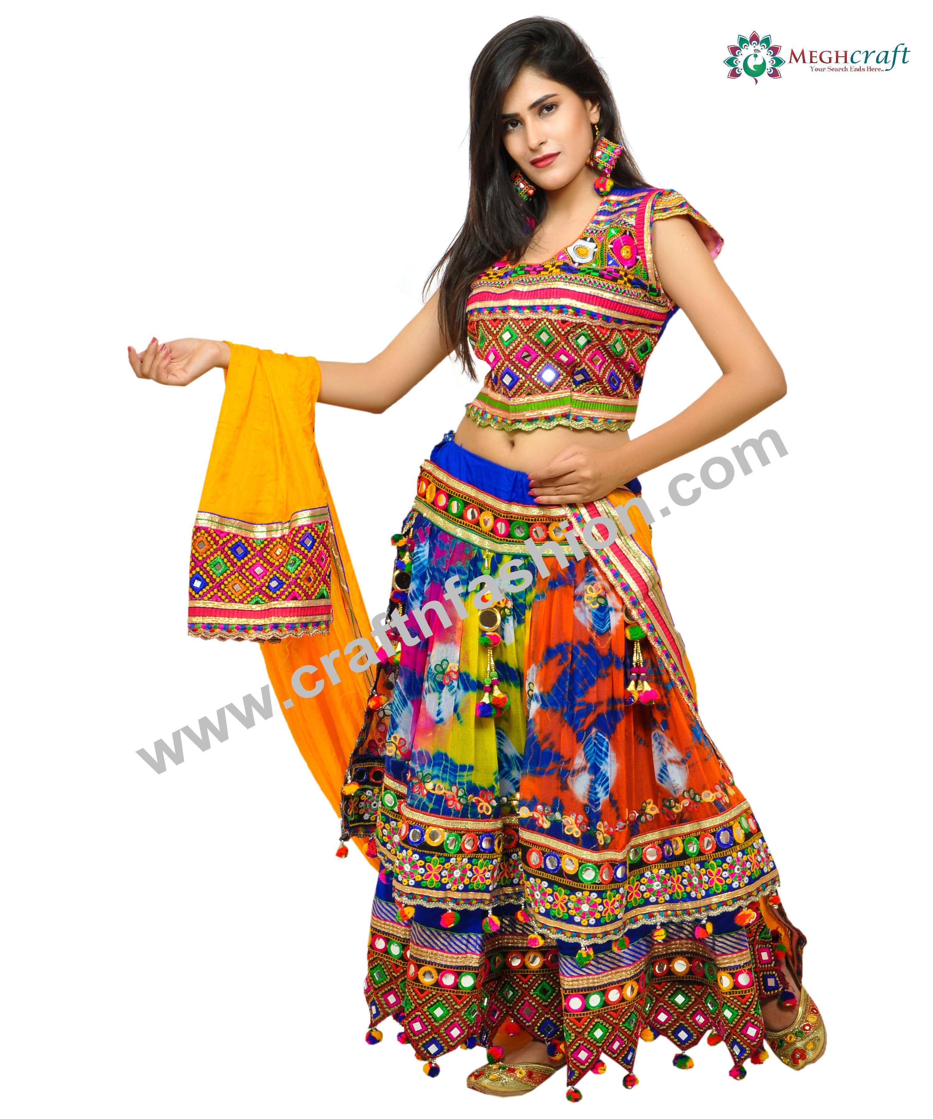 How to garba wear chaniya choli