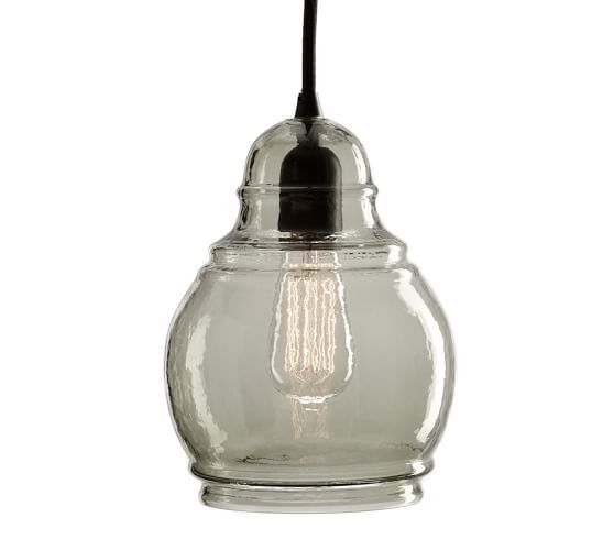 Pottery Barn Paxton 3 Light Pendant: Paxton Glass 3-Light Pendant
