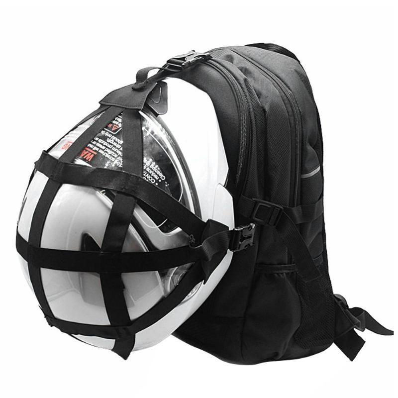 Black Motorcycle Helmet Bag and Backpack  ba8ada5729e69
