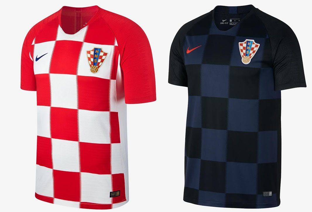 fe23f5b99 World Cup 2018 Kits Croatia (Home  amp  Away) – Nike https