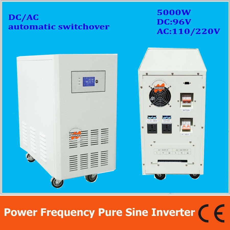 76353 Watch More Here Power Frequency 5000w Pure Sine Wave Solar Ac Inverter On Schematic With Charger